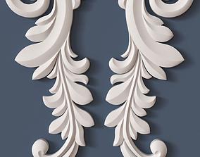 decoration Decorative Scroll 3D model