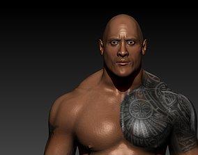 Dwayne Johnson Game Character 3D model