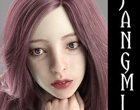 3D model Jangmi For Genesis 8 Female