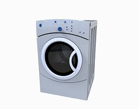 3D model Washer machine
