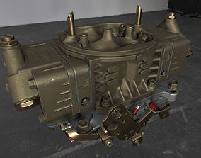 Holley Engine Carburetor 3D