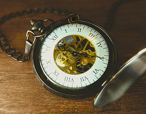 models 3D Pocket Watch