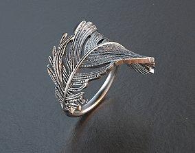 wealth 3D print model wing ring