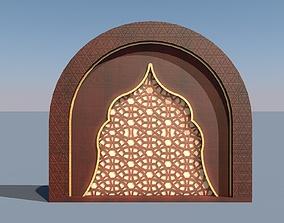 Ottoman Wall Decor 3D model