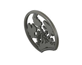 3D print model Mickey Mouse Headband Slide Ears 2 x 3