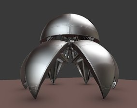 Sphere Bot High Poly Version Free Download 3D
