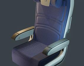 3D model British Airway Economy Seat