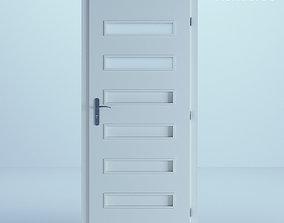 3D White Door 56