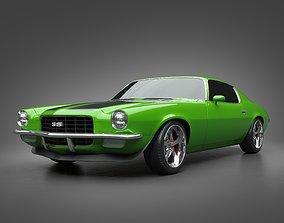 1972 Chevrolet Camaro SS 3D model