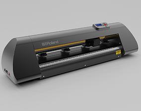 3D model Roland Advanced Cutting Plotter