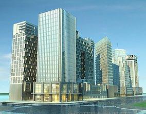 3D model Cityscape 1