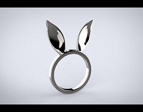 3D printable model Bunny Ears Ring