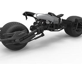 Diecast model Batpod from The Dark Knight Scale 1 to