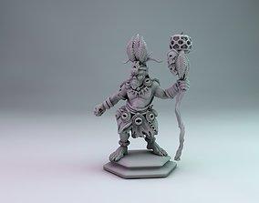 orc shaman 3D print model