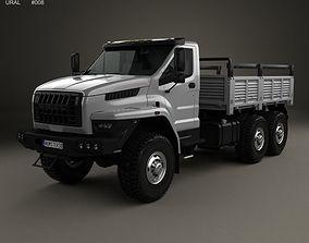 2017 Ural Next Flatbed Truck 2016 3D
