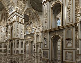 Classic Interior Scene 317 3D