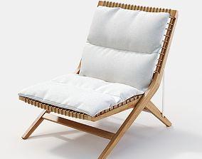 3D Unopiu Synthesis folding deckchair