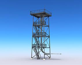 Guard Tower 3D asset low-poly