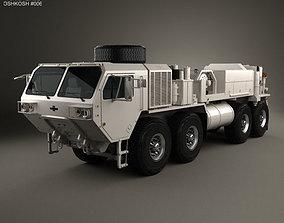 Oshkosh HEMTT M984A4 Wrecker Truck 2011 3D