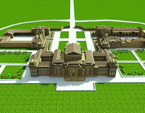 3D model Blenheim Palace