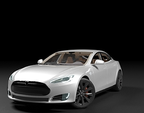 vehicle 3D Tesla Model S