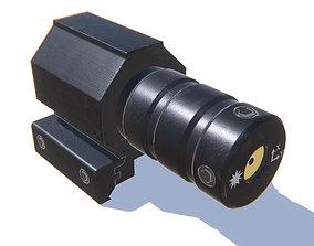 3D model Tactical Red Dot Laser