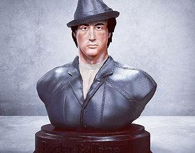 Rocky Balboa Bust - Sylvester Stallone 3D STL-OBJ NEW 1
