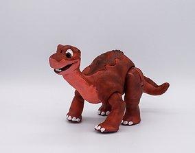 3D print model Littlefoot dinosaur brachiosaurus 1