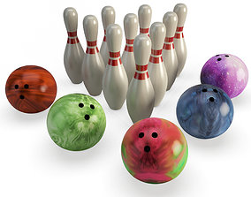 Bowling room-games 3D