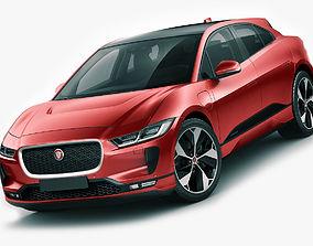 3D Jaguar I-Pace 2019