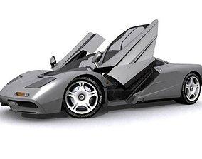 McLaren F1 3D model