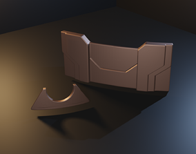 Star Wars - Temple Guard buckle - STL files for 3D