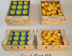 3D model Fruit Set 03