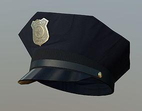 3D model Police Cap