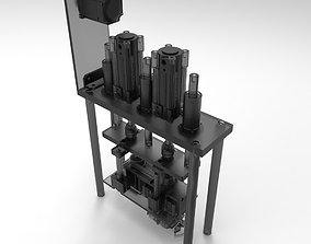 Mask Machine String Weld 3D covid