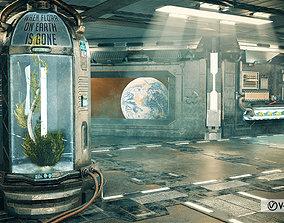 Sci Fi Corridor Lab 3D model
