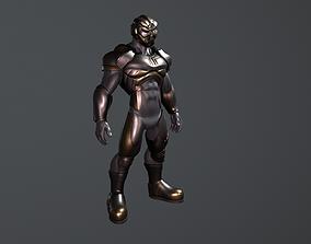 3D model sci fi suit
