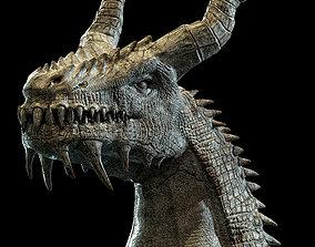 Dragon Statue b 3D model