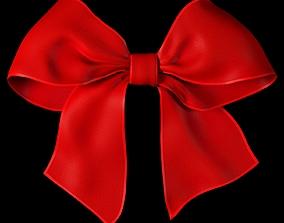 3D asset Ribbon bow