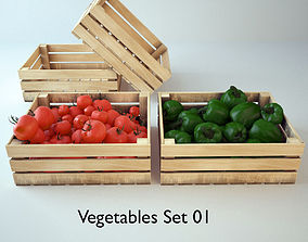 3D Vegetables Set 01