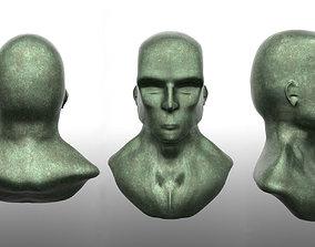3D model Corroded Bronze Head