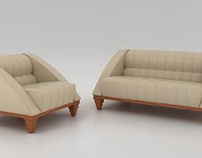 Aries sofa 3D model
