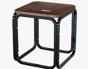 3D otto wagner stool