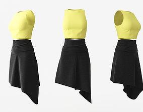 3D model Female Clothing 04
