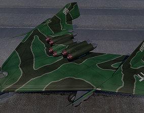 Arado E555-1 3D model
