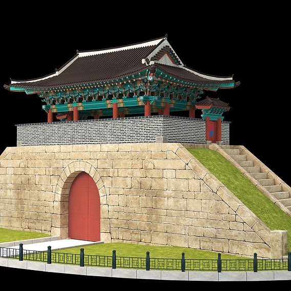 Modeling Korean traditional building