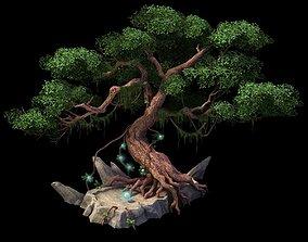 Game Model - Moon White Tree 3D