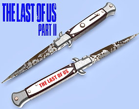 The Last of Us Part II SWITCHBLADE knife 3D print model 1