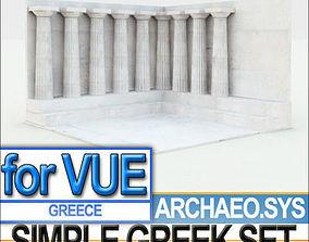 3D Simple Greek Environment