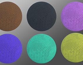 Carpet tileable textures pack 3D